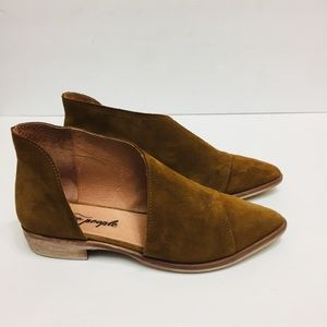 Free People Suede Shoes. Size 6